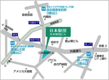 日本財団 地図